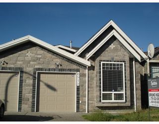 Photo 1: 6918 CUNNINGHAM Court in Burnaby: Burnaby Lake 1/2 Duplex for sale (Burnaby South)  : MLS®# V775193