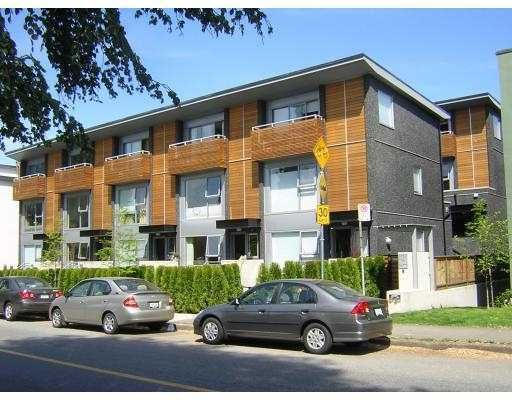 Main Photo: 1466 ARBUTUS Street in Vancouver: Kitsilano Townhouse for sale (Vancouver West)  : MLS®# V699032