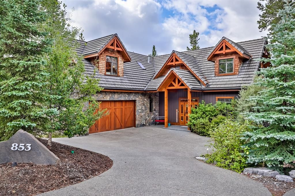 Main Photo: 853 Silvertip Heights: Canmore Detached for sale : MLS®# A1141425