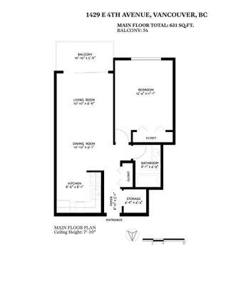 """Photo 26: 209 1429 E 4TH Avenue in Vancouver: Grandview Woodland Condo for sale in """"Sandcastle Villa"""" (Vancouver East)  : MLS®# R2554963"""