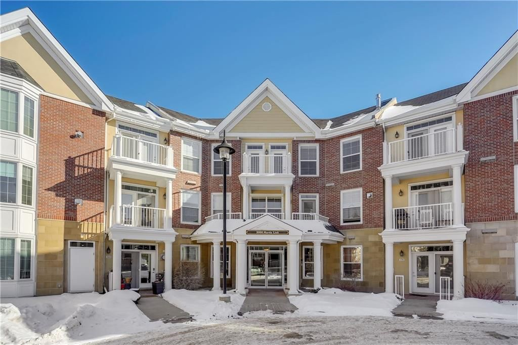Main Photo: 153 3000 MARDA Link SW in Calgary: Garrison Woods Apartment for sale : MLS®# C4232086