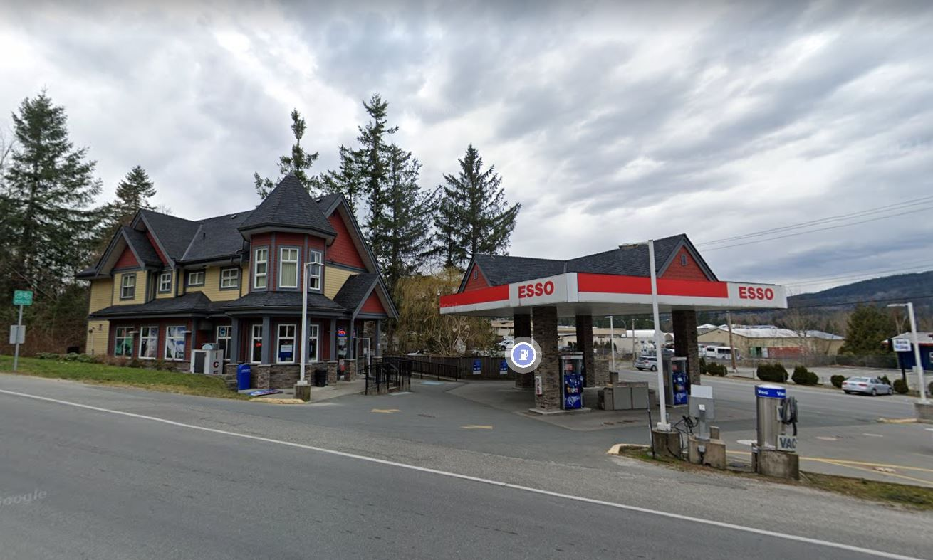 Main Photo: Esso Gas station with property in mission: Business with Property for sale (Mission)