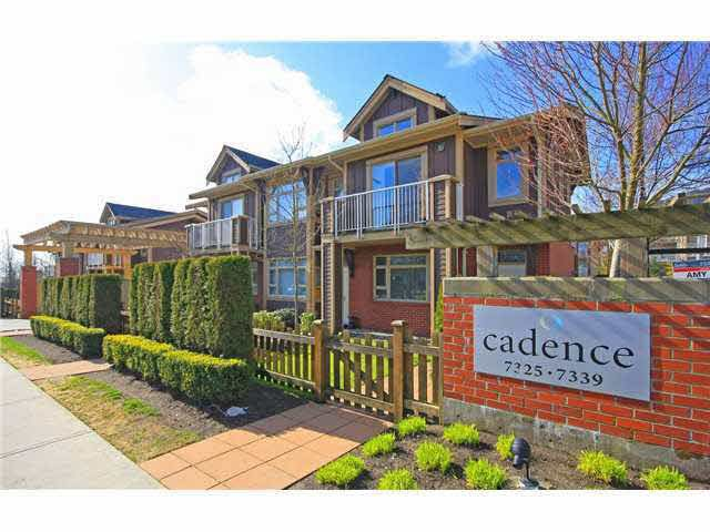 Main Photo: 303 7339 MACPHERSON AVENUE in : Metrotown Condo for sale : MLS®# V1051527