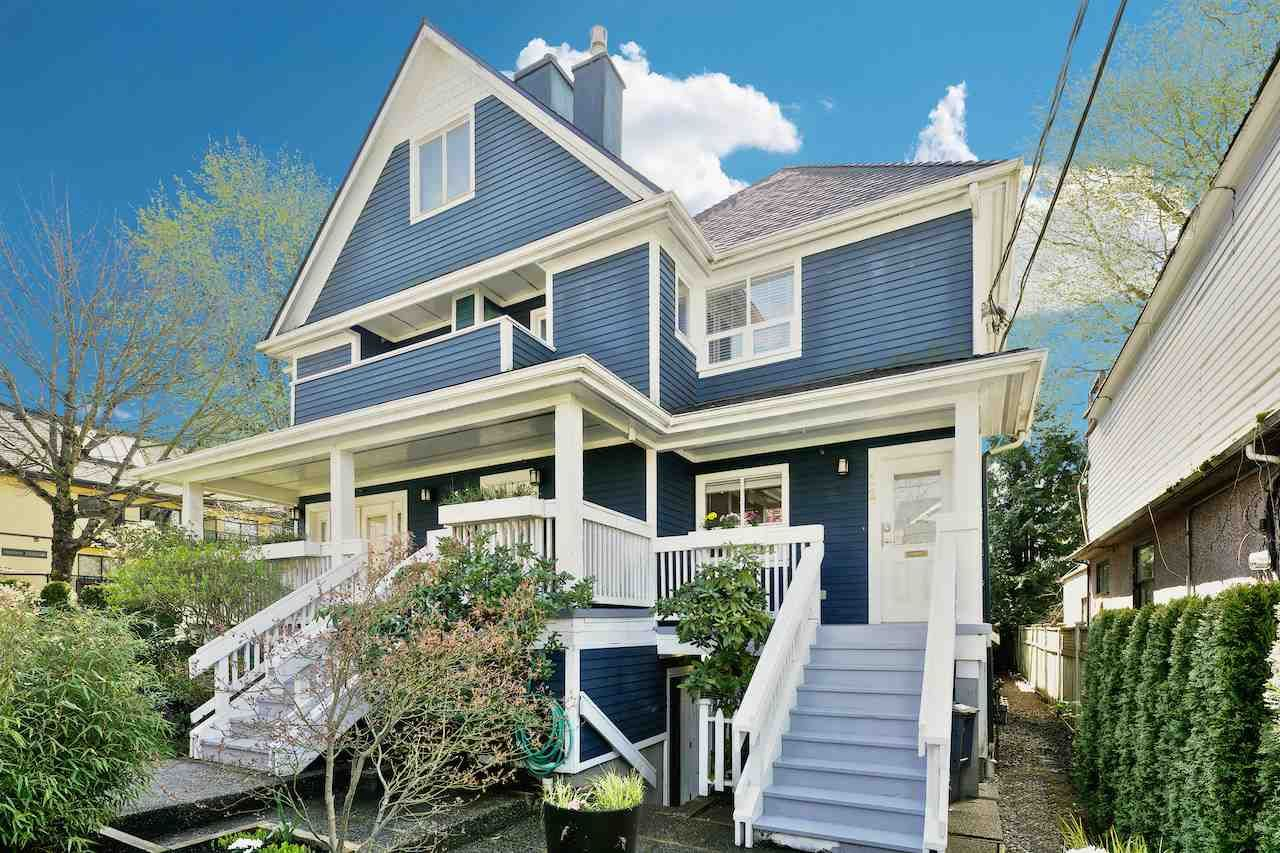 Main Photo: 12 W 14TH Avenue in Vancouver: Mount Pleasant VW Townhouse for sale (Vancouver West)  : MLS®# R2053035