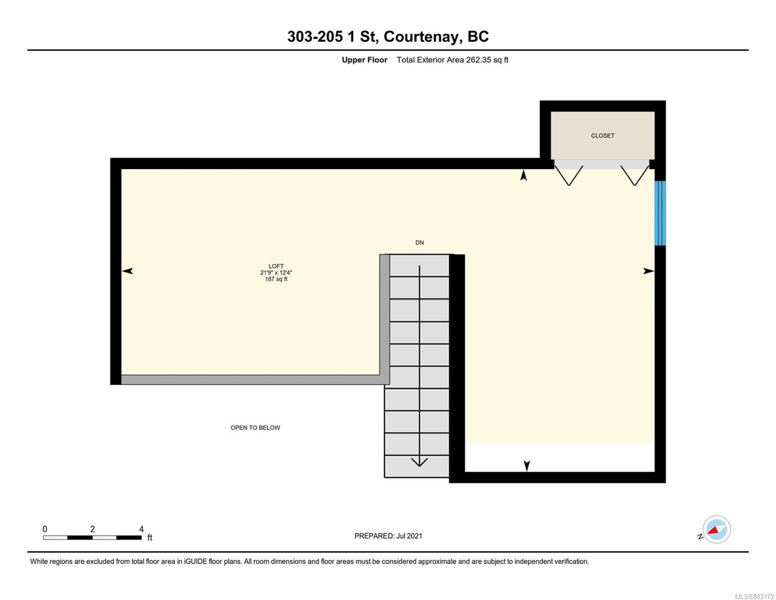 Photo 30: Photos: 303 205 1st St in : CV Courtenay City Row/Townhouse for sale (Comox Valley)  : MLS®# 883172