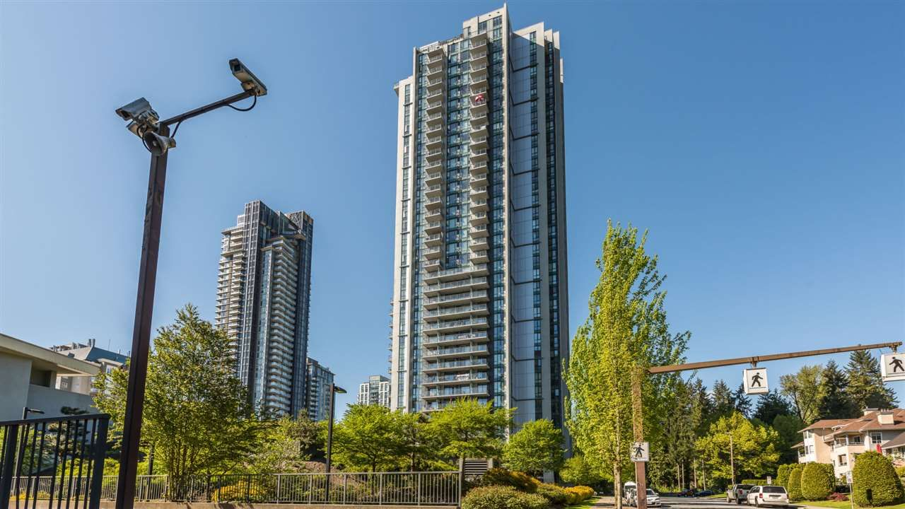 "Main Photo: 3708 1178 HEFFLEY Crescent in Coquitlam: North Coquitlam Condo for sale in ""OBELISK"" : MLS®# R2412576"