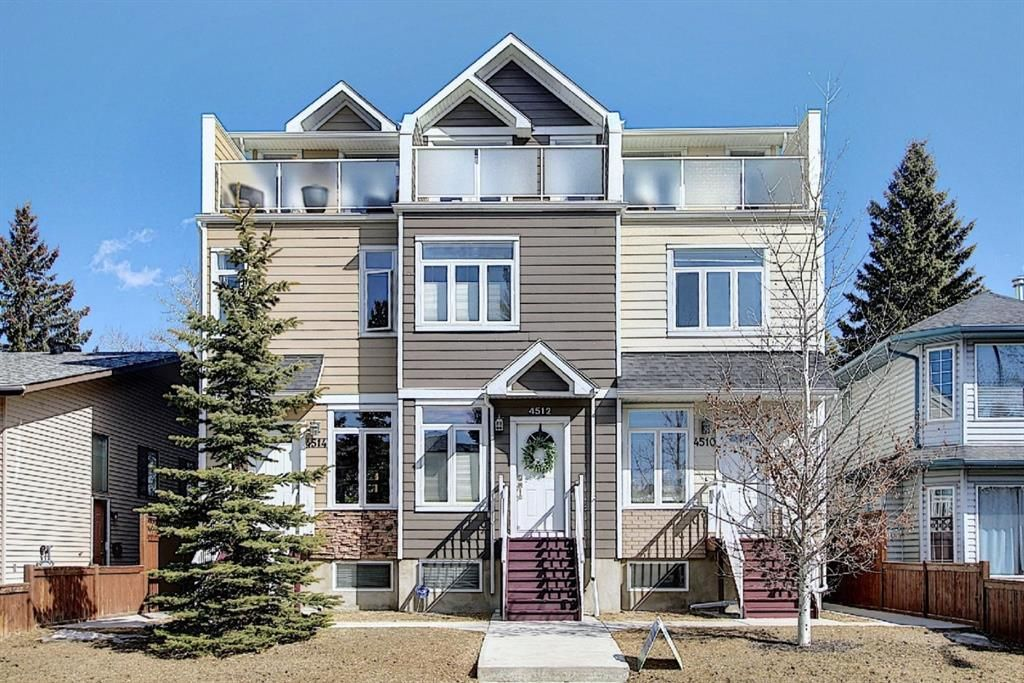 Main Photo: 4514 73 Street NW in Calgary: Bowness Row/Townhouse for sale : MLS®# A1081394