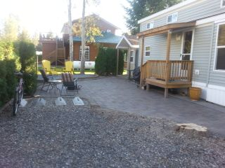 Photo 1: 280 3980 Squilax Anglemont Road in Scotch Ceek: North Shuswap Manufactured Home for sale (Shuswap)  : MLS®# 10191397