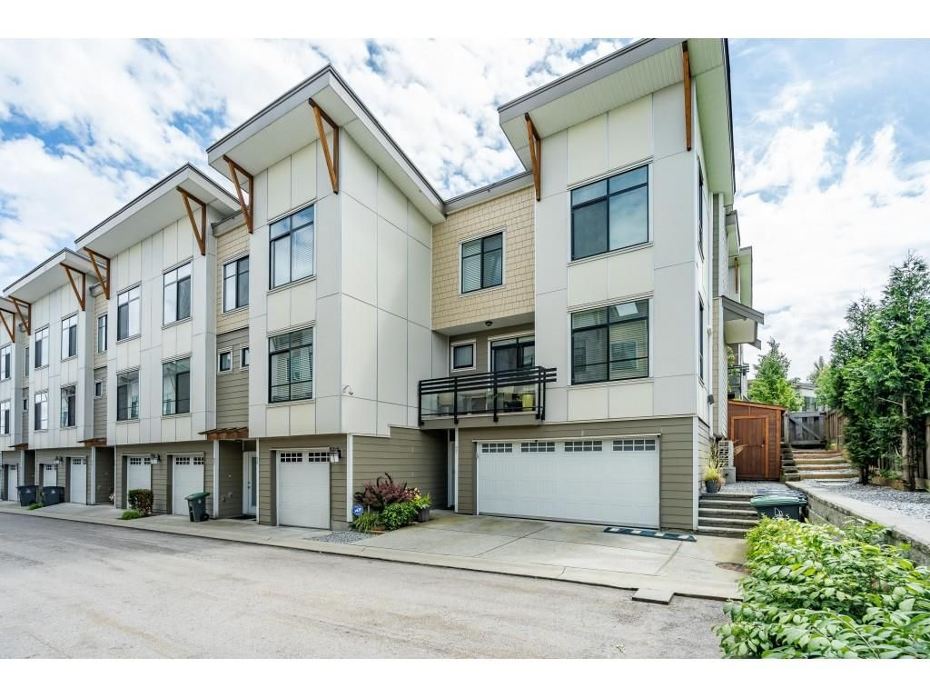"""Main Photo: 97 9989 BARNSTON Drive in Surrey: Fraser Heights Townhouse for sale in """"Highcrest"""" (North Surrey)  : MLS®# R2477034"""