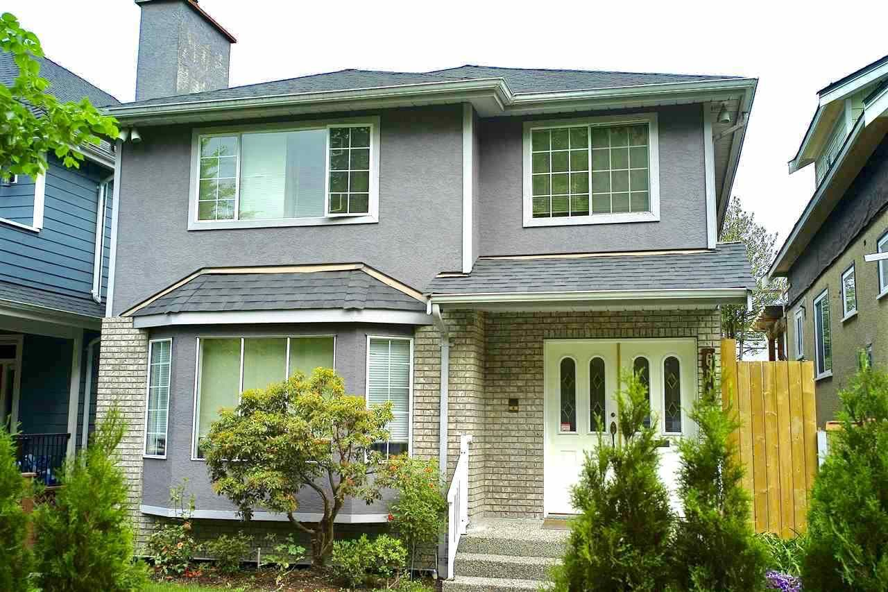 Main Photo: 671 W 20TH Avenue in Vancouver: Cambie House for sale (Vancouver West)  : MLS®# R2269219