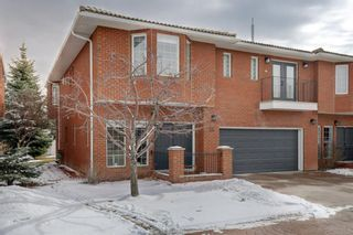 Main Photo: 55 Prominence Path SW in Calgary: Patterson Semi Detached for sale : MLS®# A1087757