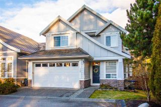 """Photo 1: 12 3502 150A Street in Surrey: Morgan Creek Townhouse for sale in """"Barber Creek Estates"""" (South Surrey White Rock)  : MLS®# R2536793"""