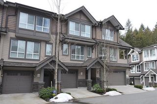 "Photo 1: 119 1480 SOUTHVIEW Street in Coquitlam: Burke Mountain Townhouse for sale in ""CEDAR CREEK NORTH"" : MLS®# R2254269"