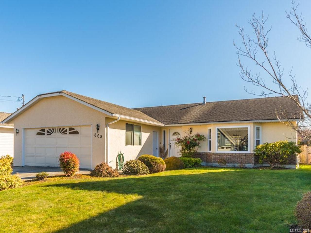 Main Photo: 868 Wright Rd in PARKSVILLE: PQ French Creek House for sale (Parksville/Qualicum)  : MLS®# 810567
