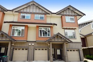 """Photo 1: 12 2979 156 Street in Surrey: Grandview Surrey Townhouse for sale in """"ENCLAVE"""" (South Surrey White Rock)  : MLS®# R2076541"""