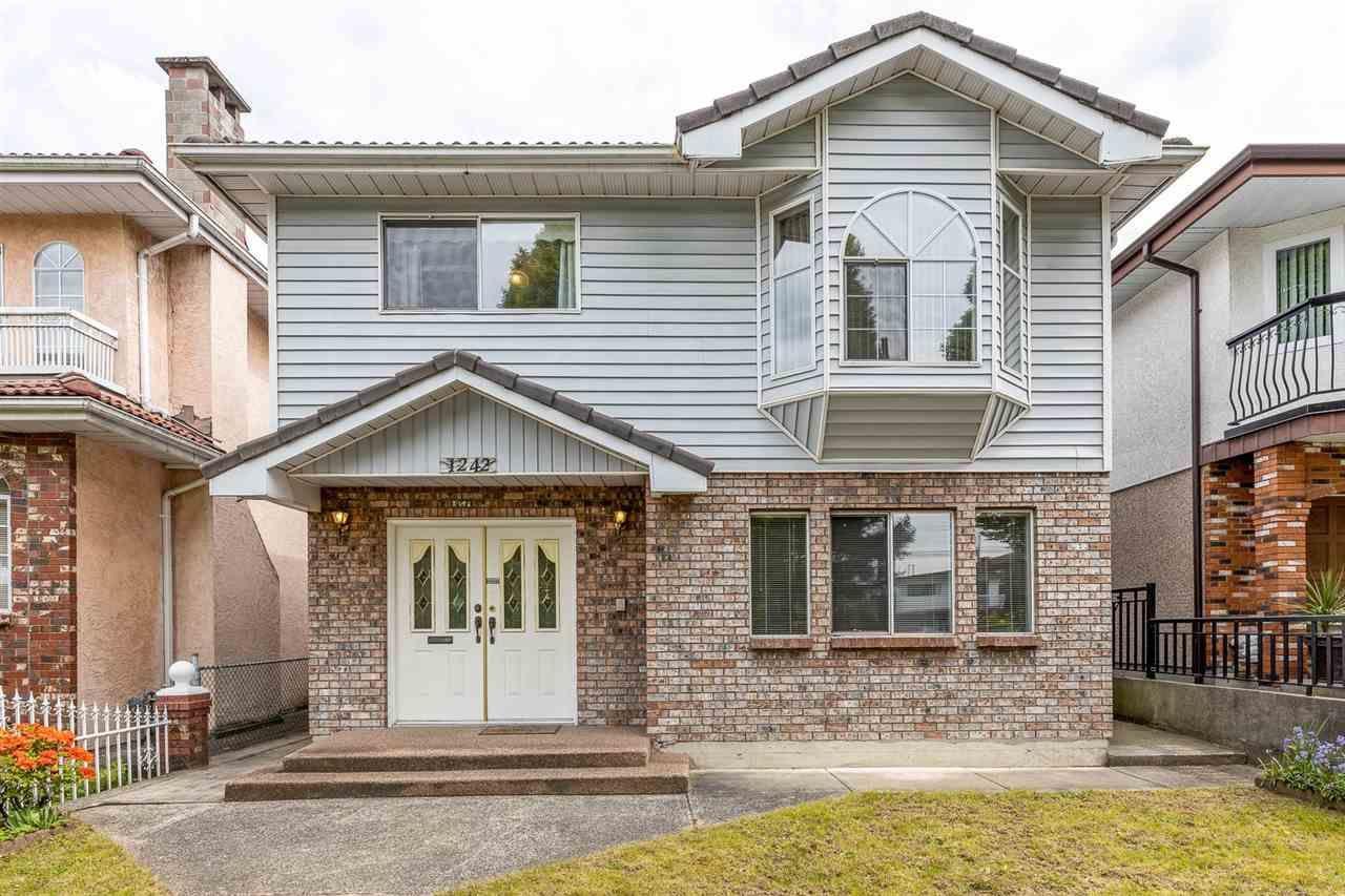 Main Photo: 1242 RENFREW Street in Vancouver: Renfrew VE House for sale (Vancouver East)  : MLS®# R2594782