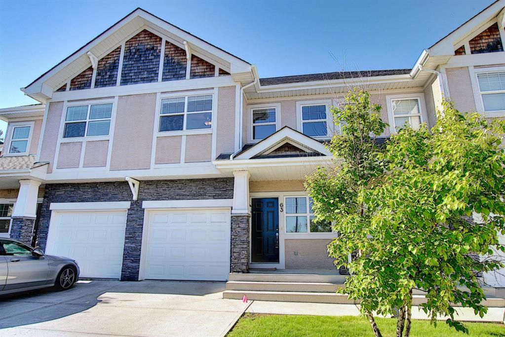 Main Photo: 63 Wentworth Common SW in Calgary: West Springs Row/Townhouse for sale : MLS®# A1124475