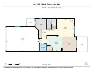 Photo 25: 61 1128 156 Street in Edmonton: Zone 14 House Half Duplex for sale : MLS®# E4255440
