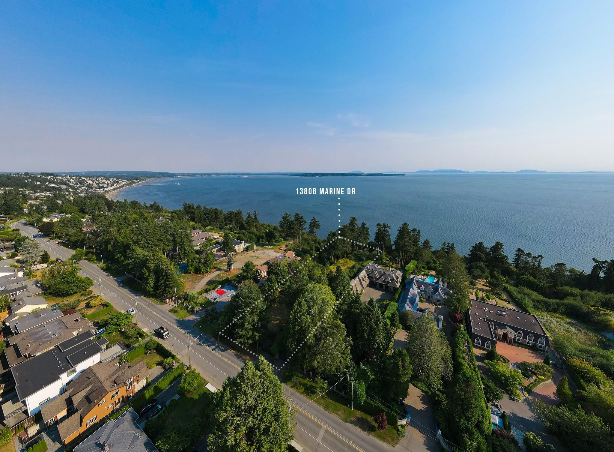 """Main Photo: 13808 MARINE Drive: White Rock Land for sale in """"Marine Drive Waterfront"""" (South Surrey White Rock)  : MLS®# R2611057"""