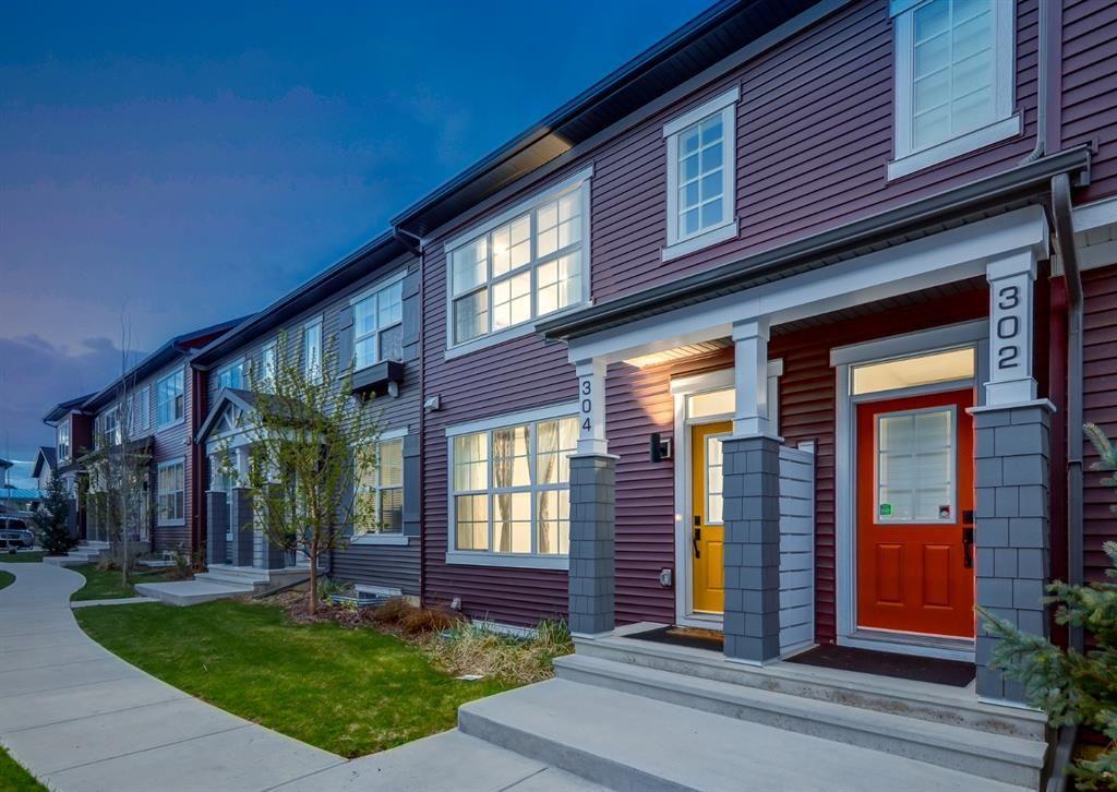 Main Photo: 304 SILVERADO SKIES Common SW in Calgary: Silverado Row/Townhouse for sale : MLS®# A1111643