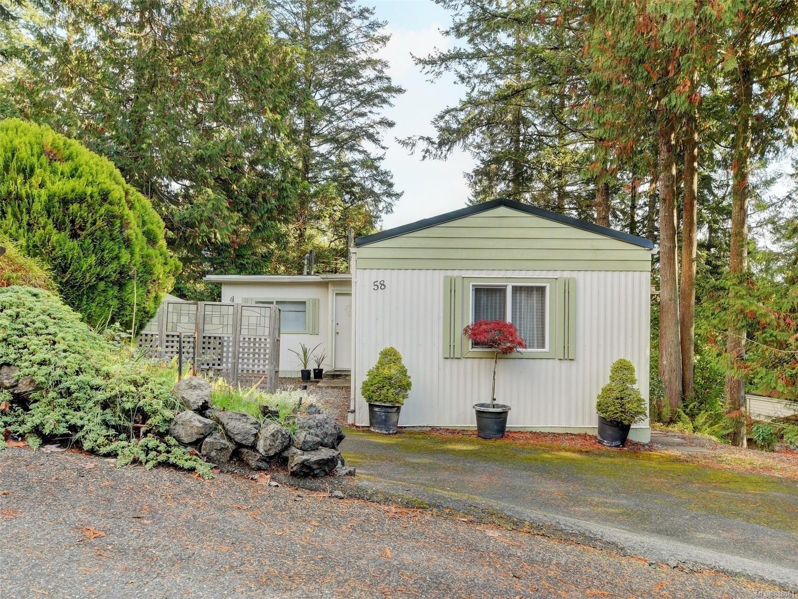 Main Photo: 58 5838 Blythwood Rd in Sooke: Sk Saseenos Manufactured Home for sale : MLS®# 888081