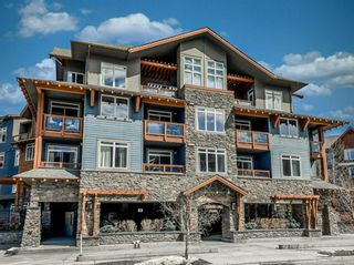Photo 1: 126A/B 170 Kananaskis Way: Canmore Apartment for sale : MLS®# A1026059