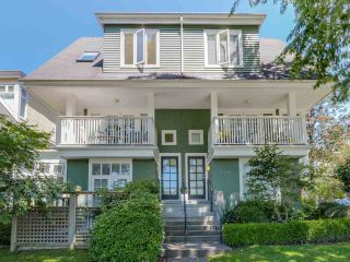Photo 1: 3 2305 W 10TH AVENUE in Vancouver: Kitsilano Townhouse for sale (Vancouver West)  : MLS®# R2087284
