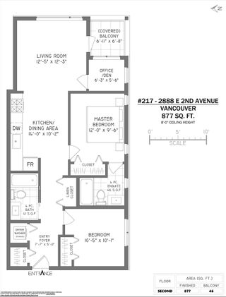 """Photo 19: 217 2888 E 2ND Avenue in Vancouver: Renfrew VE Condo for sale in """"SESAME"""" (Vancouver East)  : MLS®# R2621244"""