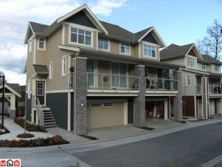 """Photo 1: 43 15454 32ND Avenue in Surrey: Grandview Surrey Townhouse for sale in """"Nuvo"""" (South Surrey White Rock)  : MLS®# F1114303"""