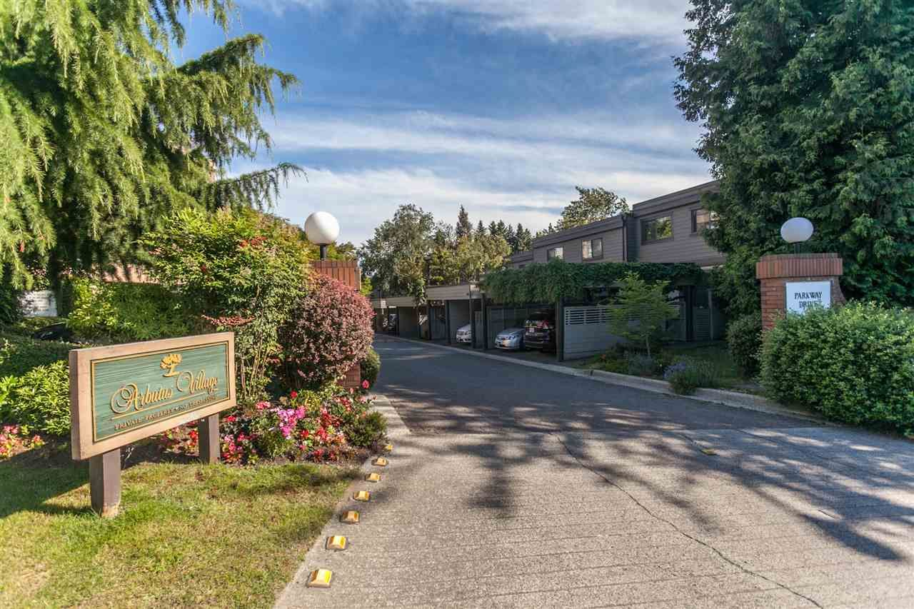 """Main Photo: 4009 PARKWAY Drive in Vancouver: Quilchena Townhouse for sale in """"ARBUTUS VILLAGE"""" (Vancouver West)  : MLS®# R2262372"""