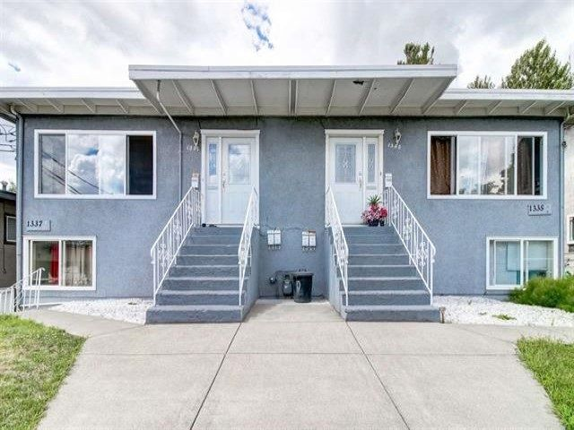 Main Photo: 1335 KAMLOOPS Street in New Westminster: Uptown NW Multi-Family Commercial for sale : MLS®# C8035488