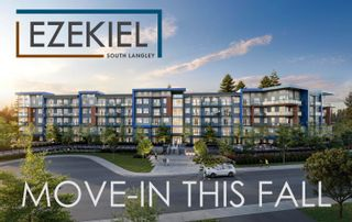 """Photo 1: 321 5486 199A Street in Langley: Langley City Condo for sale in """"Ezekiel"""" : MLS®# R2618784"""