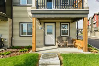 Photo 2: 136 16903 68 Street NW in Edmonton: Zone 28 Townhouse for sale : MLS®# E4249686