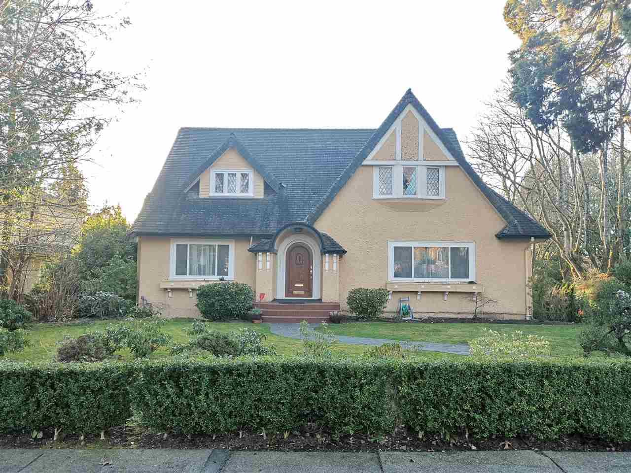 Main Photo: 5915 ANGUS Drive in Vancouver: South Granville House for sale (Vancouver West)  : MLS®# R2548300