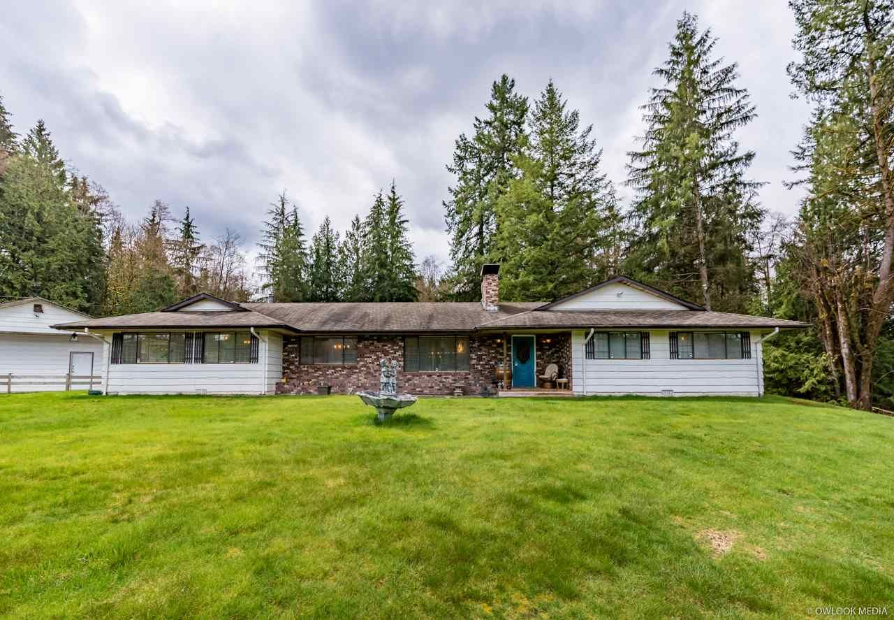 Main Photo: 25350 124 Avenue in Maple Ridge: Websters Corners House for sale : MLS®# R2250828