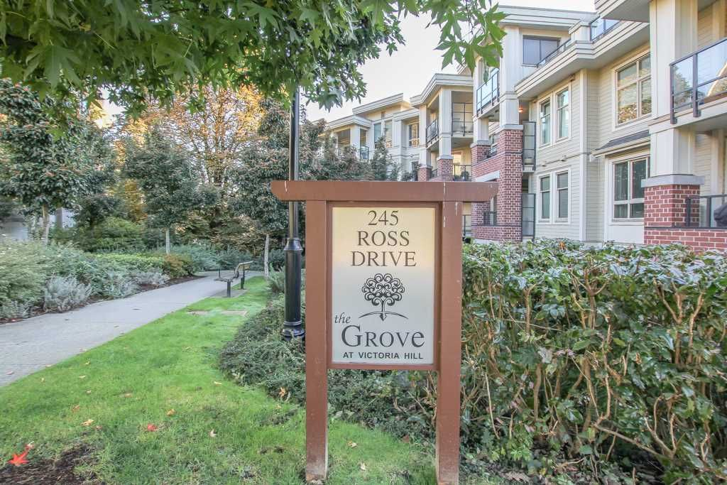Main Photo: 311-245 Ross Drive in New Westminster: Fraserview NW Condo for sale : MLS®# R241148