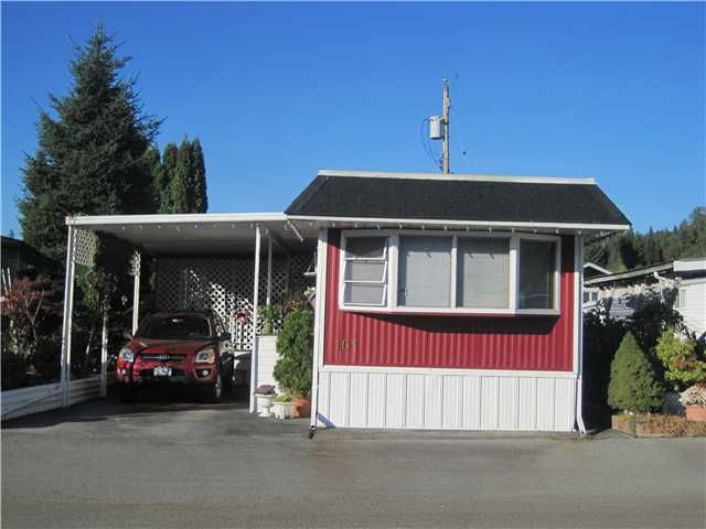 "Main Photo: 101 201 CAYER Street in Coquitlam: Maillardville Manufactured Home for sale in ""WILDWOOD PARK"" : MLS®# V1006135"