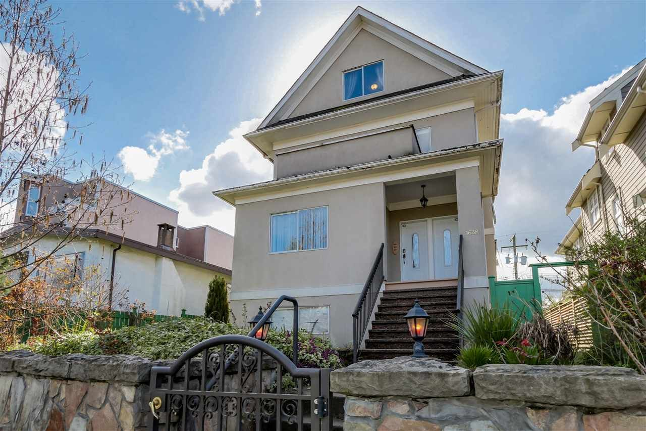 Photo 1: Photos: 1638 E 8TH Avenue in Vancouver: Grandview Woodland House for sale (Vancouver East)  : MLS®# R2520323