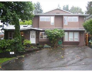 Photo 1: 314 BEGIN Street in Coquitlam: Maillardville House for sale : MLS®# V739318