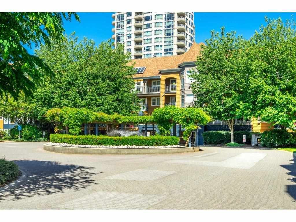 "Main Photo: 414 3075 PRIMROSE Lane in Coquitlam: North Coquitlam Condo for sale in ""Lakeside Terrace"" : MLS®# R2582945"