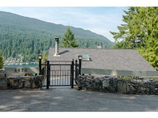 Photo 2: 4670 EASTRIDGE Road in North Vancouver: Deep Cove House for sale : MLS®# V1021079