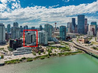Photo 32: 1409 550 Riverfront Avenue SE in Calgary: Downtown East Village Apartment for sale : MLS®# A1121115