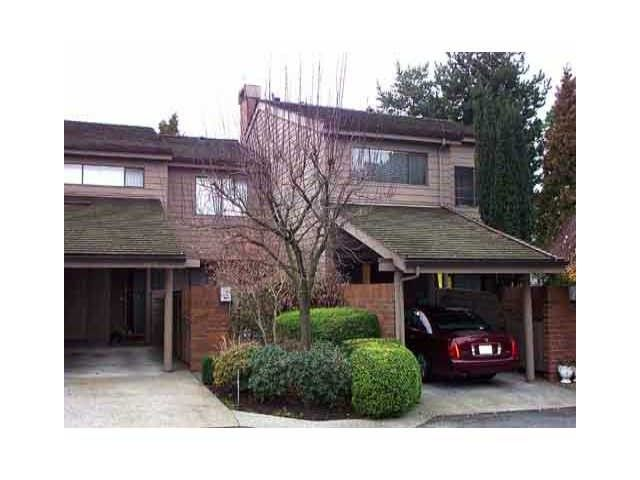 """Main Photo: 4005 VINE Street in Vancouver: Quilchena Townhouse for sale in """"ARBUTUS VILLAGE"""" (Vancouver West)  : MLS®# V1043793"""