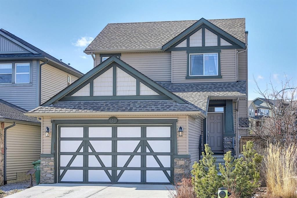 Main Photo: 1 Heritage Landing: Cochrane Detached for sale : MLS®# A1085433