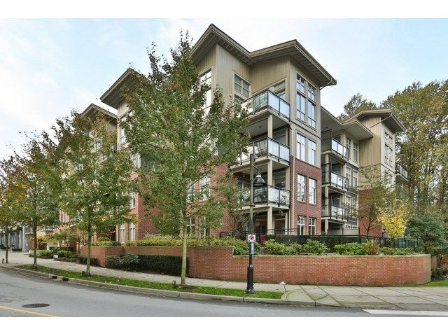 "Main Photo: 112 101 MORRISSEY Road in Port Moody: Port Moody Centre Condo for sale in ""LIBRA AT SUTER BROOK VILALGE"" : MLS®# R2010522"