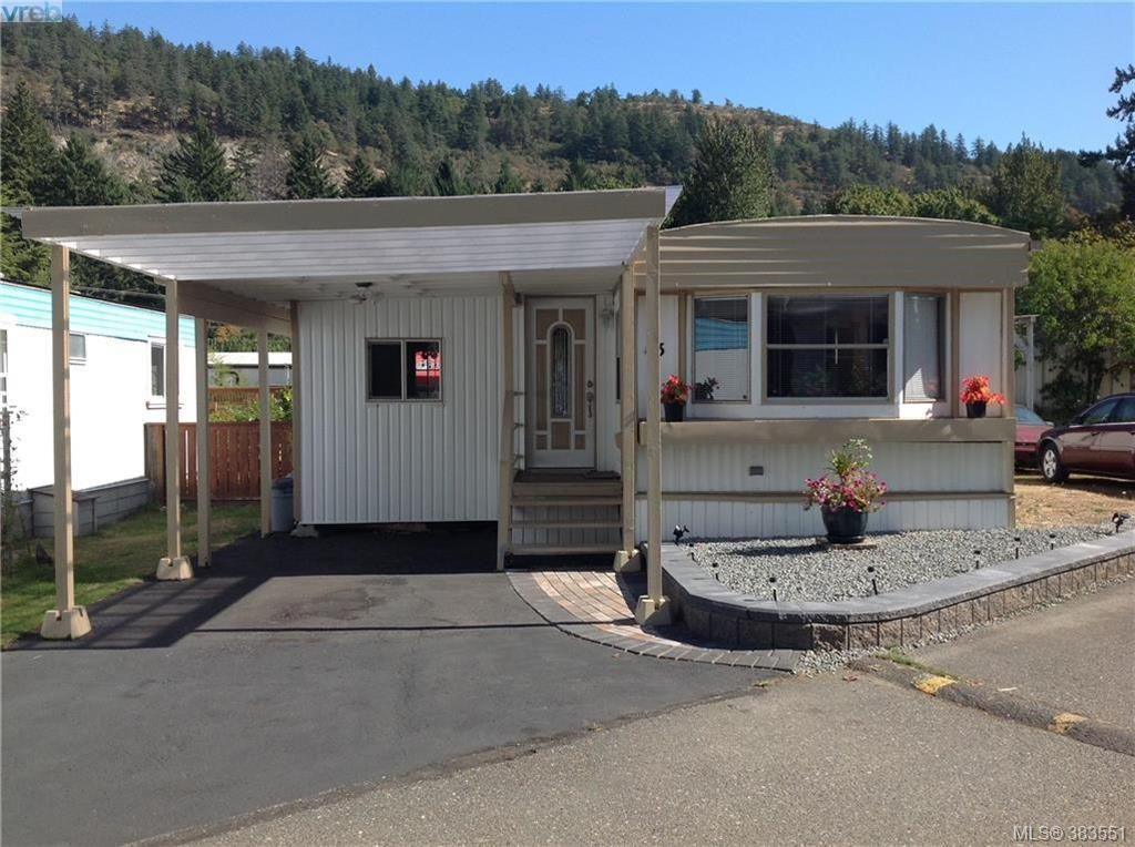 Main Photo: 43 2807 Sooke Lake Rd in VICTORIA: La Goldstream Manufactured Home for sale (Langford)  : MLS®# 770850