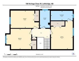 Photo 34: For Sale: 198 Heritage Close W, Lethbridge, T1K 6S2 - A1125138