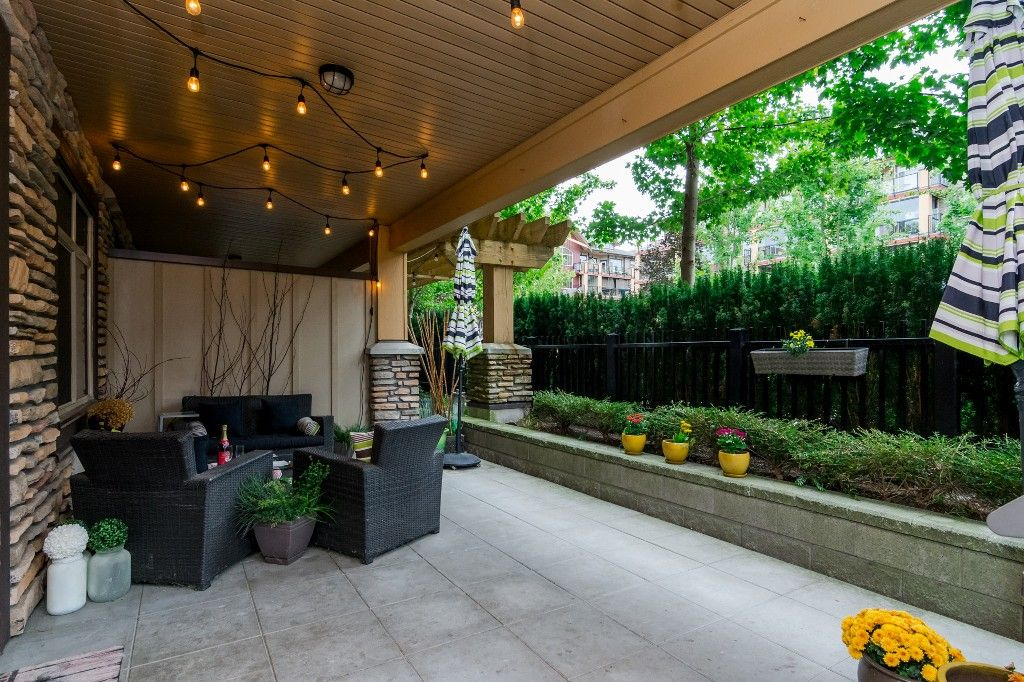 """Photo 33: Photos: 155 8328 207A Street in Langley: Willoughby Heights Condo for sale in """"YORKSON CREEK"""" : MLS®# R2201226"""