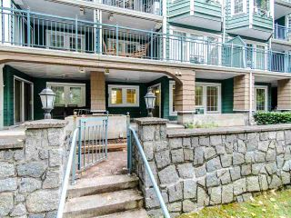 """Photo 1: 109 1189 WESTWOOD Street in Coquitlam: North Coquitlam Condo for sale in """"LAKESIDE TERRACE"""" : MLS®# R2483775"""