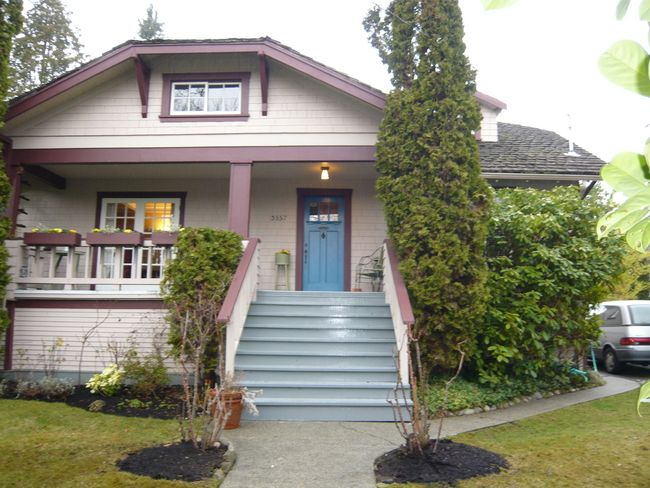 Main Photo: 3557 W 40th Avenue in Vancouver: Home for sale : MLS®# V691610